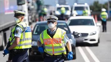 Corona-Grenzkontrollen: Polizei vollstreckt über 500 Haftbefehle