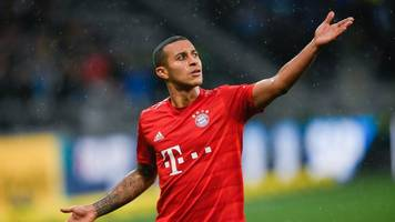 FC Bayern ohne Thiago im Topspiel gegen Frankfurt