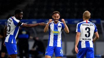 Bundesliga: Vaterfreuden bei Herthas Matheus Cunha direkt nach Derby-Tor