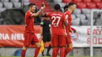 Bundesliga: FC Bayern wackelt gegen Frankfurt nur kurz