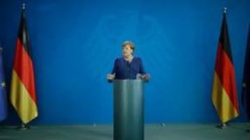 Merkel verteidigt erneut Grundrechts-Einschränkungen