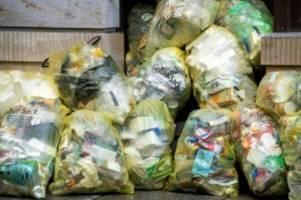 Umweltschutz: Deutsche produzieren in der Corona-Krise mehr Müll