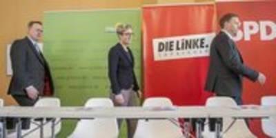 Zwischenbilanz R2G+C in Thüringen: Konstruktiv in der Krise