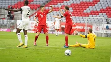 Bundesliga: 5:2!  FC Bayern gewinnt Spektakel gegen Eintracht Frankfurt