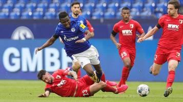 Bundesliga: FC Schalke verliert deutlich gegen hungrige Augsburger