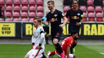 Bundesliga: Timo Werner schießt Mainz 05 ab – RB Leipzig springt auf Platz drei