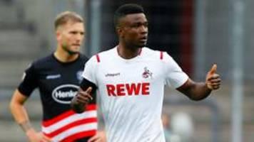 Fußball-Bundesliga: Düsseldorf verschenkt Sieg in Köln