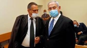 prozessauftakt in israel: netanyahu spricht von verschwörung