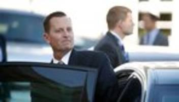 Richard Grenell: Grüne und Linke begrüßen Ausscheiden von umstrittenem US-Botschafter