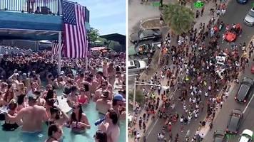 Memorial Day: Kein Abstand trotz Corona: Videos zeigen feiernde Menschenmengen in beliebten US-Ausflugsorten