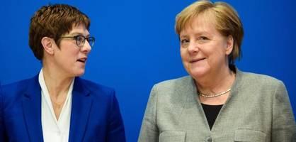Die CDU ist wieder Merkel-Partei