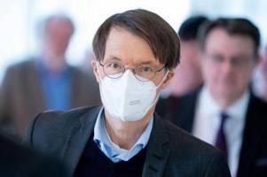 Lauterbach fordert Signal gegen Lockerungen in Thüringen