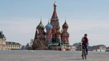 Moskau: Leichte Corona-Lockerungen - Selbstisolation bleibt