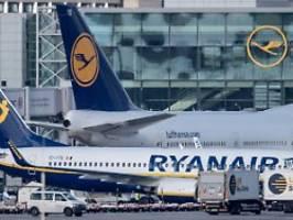 Illegale Staatshilfe: Ryanair klagt gegen Lufthansa-Rettungspaket