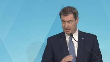 Diskussion um Lockerungen: Söder lehnt radikalen Kurswechsel in Corona-Politik ab – und kritisiert Thüringen