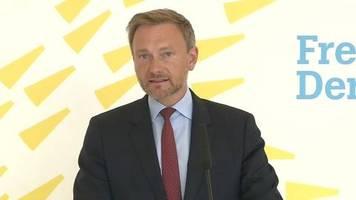 Video: Lindner - Gebote statt Verbote im Prinzip richtig