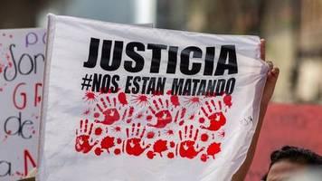 Seit Beginn der Erfassung: Zahl ermordeter Frauen in Mexiko im April auf Höchststand
