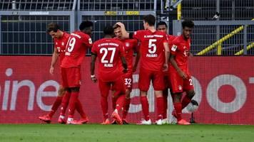 Bundesliga: Vorentscheidung im Meisterkampf – FC Bayern schlägt den BVB