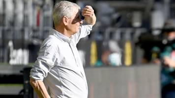 Nach BVB-Pleite gegen FC Bayern: Spricht Trainer Lucien Favre hier vom Abschied?
