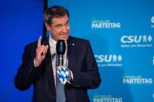 Hier sehen Sie die Pressekonferenz von Markus Söder live im Stream