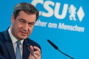 Söder zu Corona-Regeln in Bayern: So geht es weiter