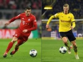 BVB gegen FC Bayern live: Das Spitzenspiel Dortmund gegen München im Live-Ticker