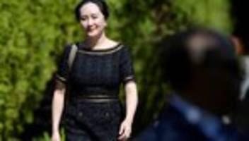 meng wanzhou: verfahren gegen huawei-finanzchefin wird nicht eingestellt