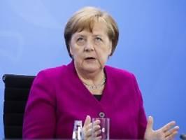 Pläne für EU-Ratspräsidentschaft: Merkel: Corona-Krise kann Europa stärken