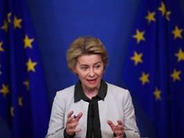 Massive Hilfe gegen Corona-Krise: EU-Kommission plant 750-Milliarden-Paket