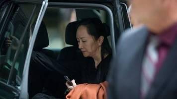 Verfahren in Kanada: Huawei-Finanzchefin unterliegt in Prozess um Auslieferung