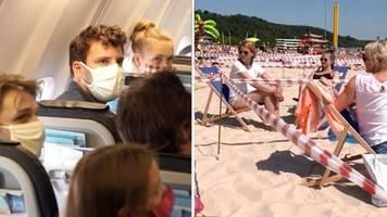 reisetest mit experten: urlaubscheck in der coronakrise: so könnten flugreisen und strandurlaube 2020 aussehen