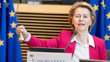 merkel erwartet hürden - eu-kommission: 750 milliarden euro für wiederaufbauprogramm
