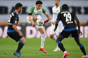 Augsburg torlos zum Jubiläum - Paderborn-Abstieg rückt näher