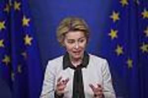 """Merkel und Macron gegen die """"Sparsamen Vier"""" - Streit um 500 Milliarden für Wiederaufbau: Von der Leyen stellt den EU-Plan vor"""
