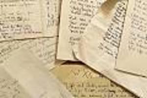 Über 8.000 werke - aus liebe: brite schreibt seiner frau jeden tag ein neues gedicht - auch nach ihrem tod