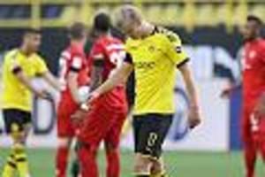 Bei Pleite gegen die Bayern - Nach Zusammenstoß mit Schiedsrichter: Haaland fehlt dem BVB in Paderborn