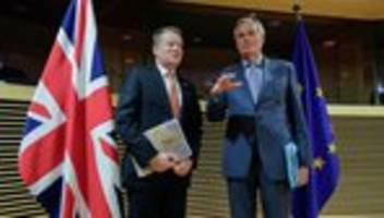 brexit-gespräche: eu-verhandler fordert von großbritannien mehr realismus