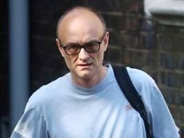 während lockdown familie besucht: johnson-berater cummings bleibt wohl straffrei