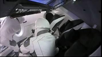Schlechtes Wetter: Start von Crew Dragon zur ISS verschoben
