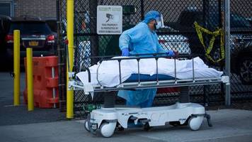 news zur coronavirus-pandemie: zahl der corona-toten in den usa steigt auf mehr als 100.000