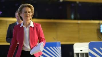 eu-kommissionspräsidentin: jetzt – oder nie