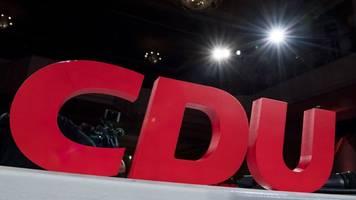 CDU: Spitzenkandidaten zur Landtagswahl erst im November