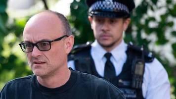 Großbritannien: Umstrittener Johnson-Berater Cummings denkt wohl an Rücktritt