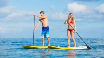 tipps vom experten: stand up paddling: wissenswertes rund um boards, kleidung und zubehör