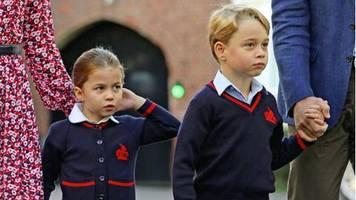 Verzicht auf Friseur: Corona macht die Royals kreativ:  Wie Kate ihren Kindern die Haare schneidet