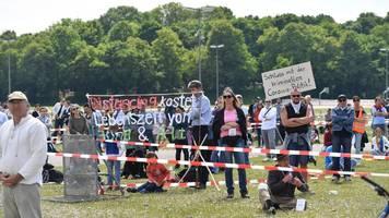corona/münchen: eilantrag für 10.000 demonstranten abgelehnt