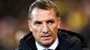 Premier League - Leicester-Coach Rodgers: Im März mit Coronavirus infiziert