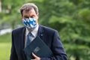 #faceshields - söder geht mit anwalt gegen afd-verschwörungstheorie vor