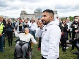 150 Demonstranten bei Hildmann: Weniger Zulauf bei Corona-Protesten