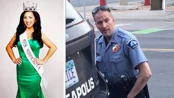 Nach Tod von George Floyd: Schönheitskönigin Kellie Chauvin will die Scheidung vom Minnesota-Cop